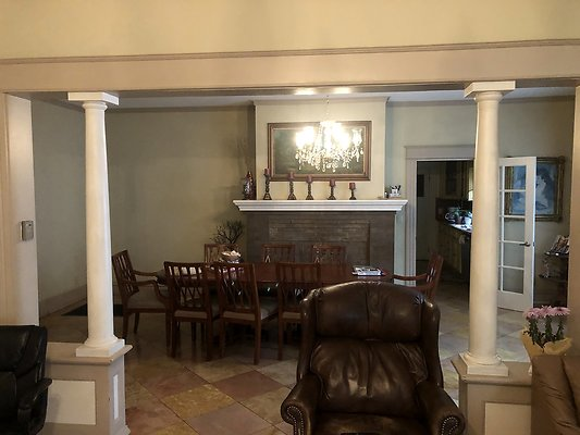 28 Dining Room w Lights On